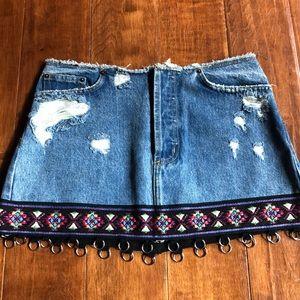 Carmar Denim Skirt
